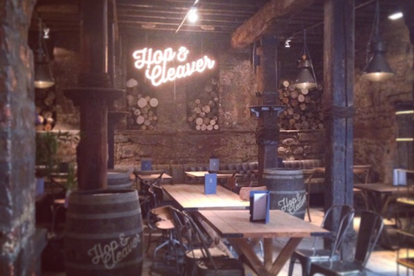 Hop & Cleaver launches on the Quayside