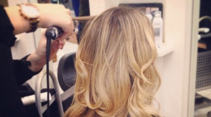 Curl perfection at Y Salon with GHD Curve