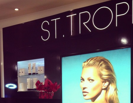 A sun-kissed St Tropez spray tan