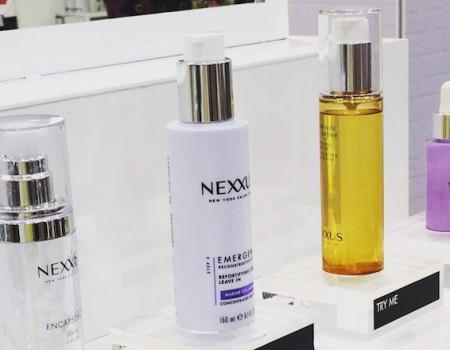 Nexxus New York Salon Care comes to Fenwick