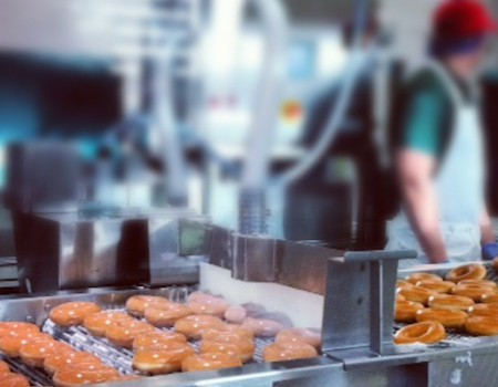 The sweet arrival of Krispy Kreme
