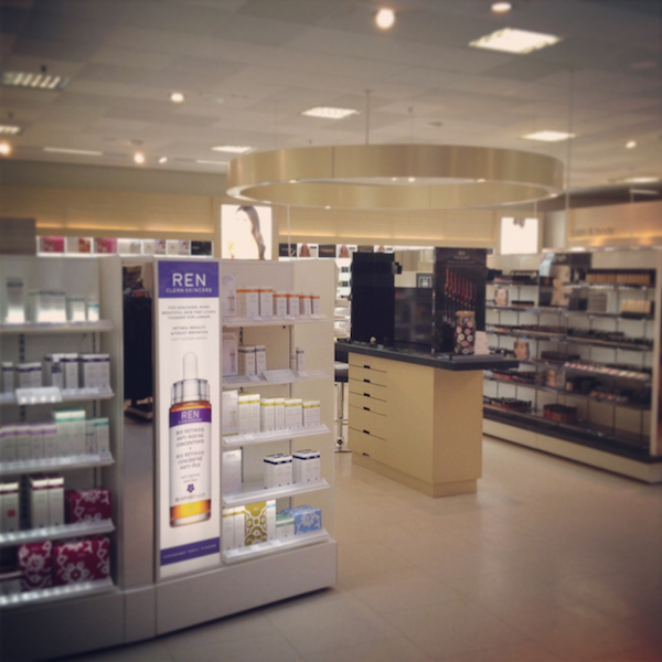 M&S beauty hall