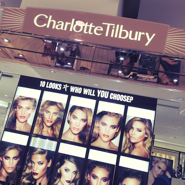 Charlotte Tilbury counter Fenwick