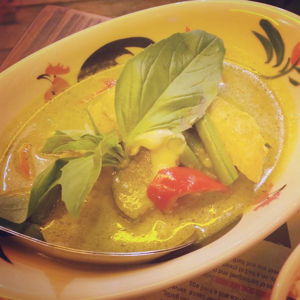 Thaikhun green curry