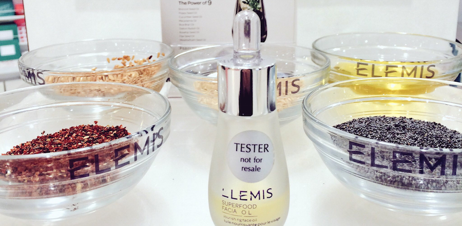 Elemis spa pod at Debenhams