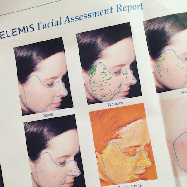 Elemis facial assessment