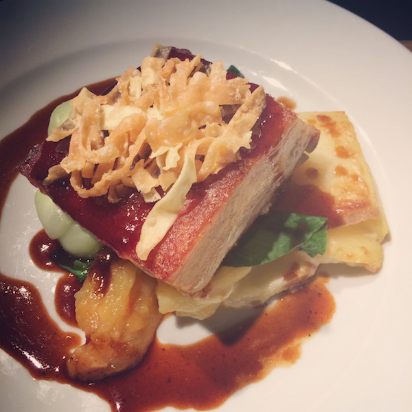 Le Petit Chateau pork belly