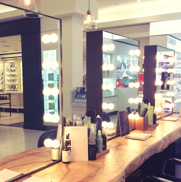 Aveda blow dry bar mirrors