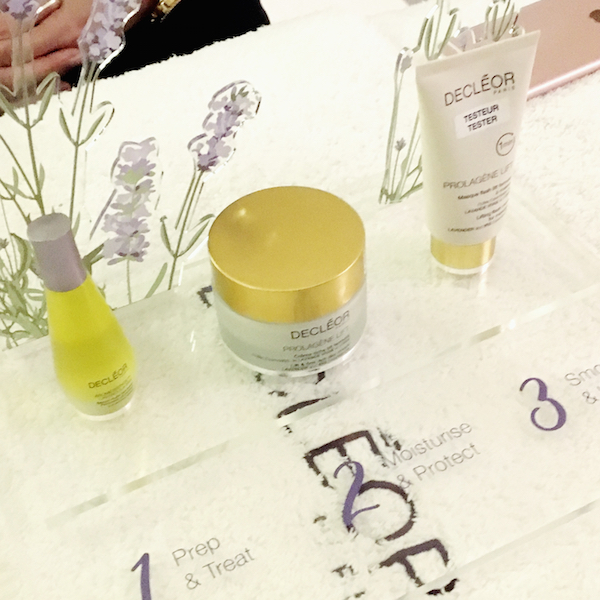 John Lewis Newcastle Decleor products