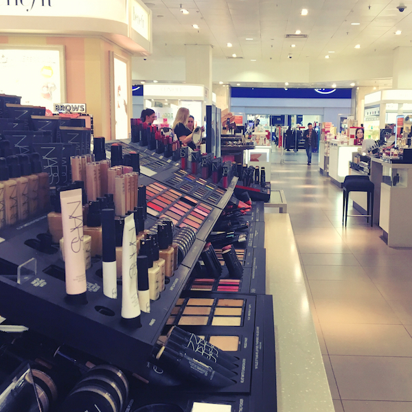 John Lewis Newcastle NARS counter