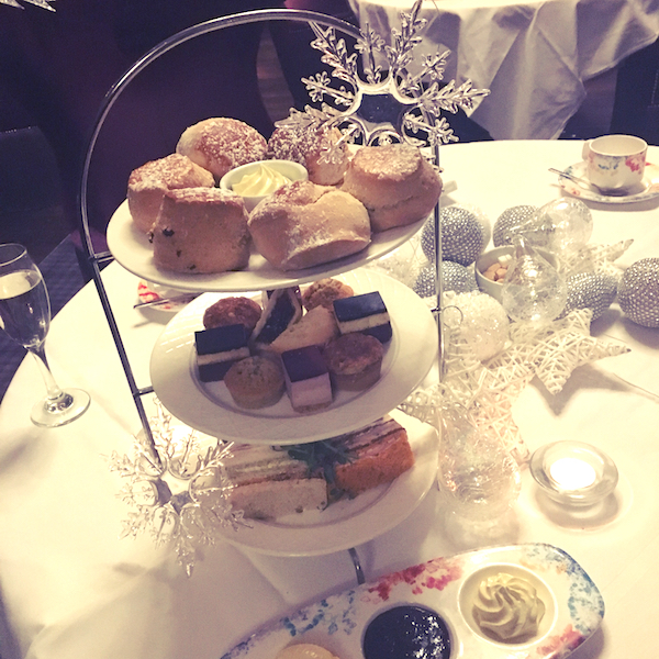 Slaley Hall afternoon tea