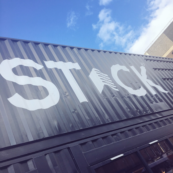 Stack Newcastle shipping containers