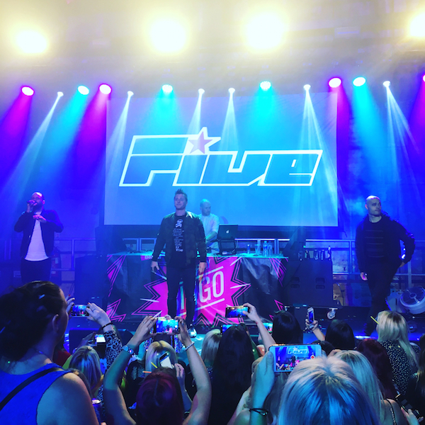 5ive at Bongo's Bingo Newcastle